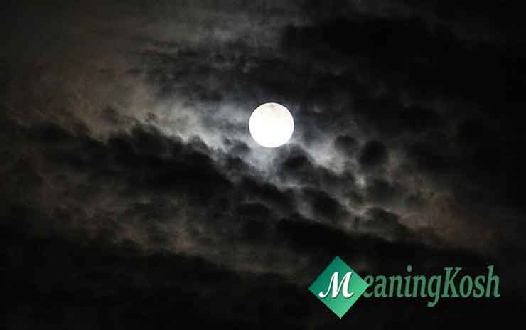 A Moonlit Night paragraph writing